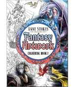 Anne Stokes Fantasy-Kunst Malbuch 2