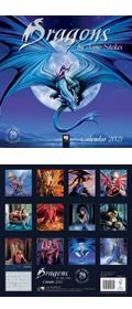 Anne Stokes Drachen Kalender 2021