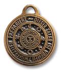 Astrologisches Amulett