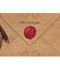 Drachen Karten - Umschlag - Rückseite