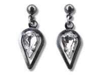 Fantasy Ohrringe aus Glas