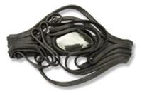 Haarspange mit Hämatit - Clip