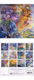 Mini - Josephine Wall Celestial Journeys Kalender 2022 (Vorbestellung)