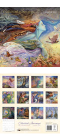 Josephine Wall Celestial Journeys Kalender 2022 (Vorbestellung)