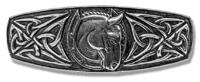 Haarspange Keltisches Hufeisen