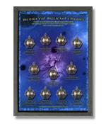 Briar Mittelalterliche Magische Amulette - Schaukasten
