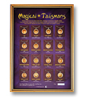 Magische Talismane - Schaukasten