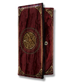 Luna Lakota Pentagramm Geldbörse