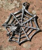 Spinnennetz Anhänger