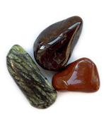 Beutel mit Steinen für Wohlergehen