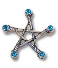 Pentagramm der Schwerter