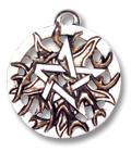 Feuer-Pentagramm