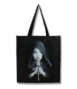 Gothic Prayer Einkaufstasche