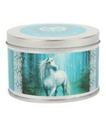 Anne Stokes Forest Unicorn Kerze