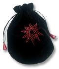 Tarot Tasche - Doppeltes Pentagramm