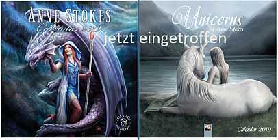 Lazell Historic - Anne Stokes Kalender