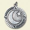 Keltische Sternzeichen (versilbert)